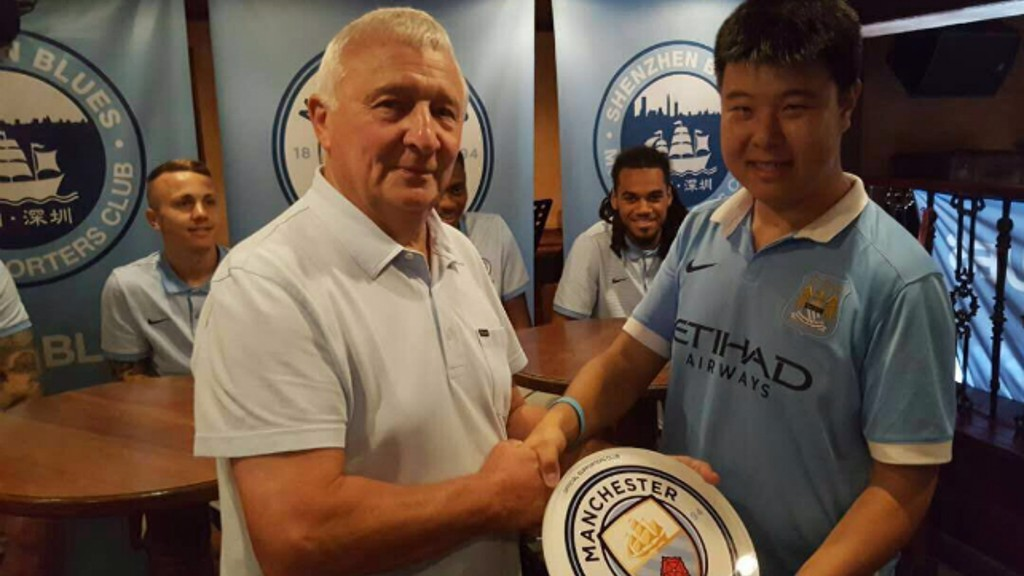Three Supporter Clubs meet City stars in Shenzhen