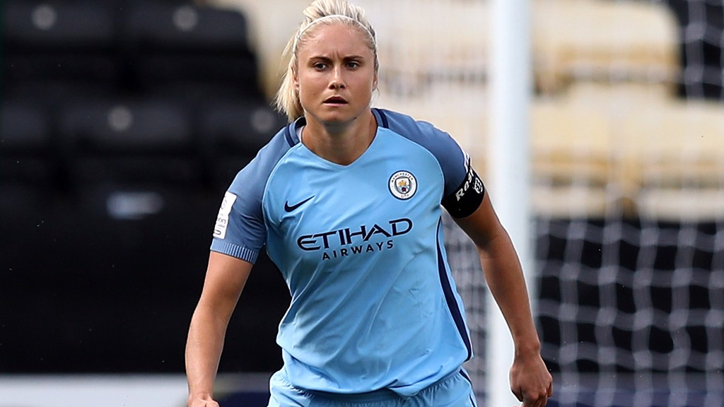 Leanne Adams successfully entered our competition to win MCWFC captain Steph Houghton's shirt.