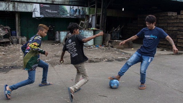 BANDUNG: Football for change aims to prevent drug use and reduce the risk of HIV and AIDS.
