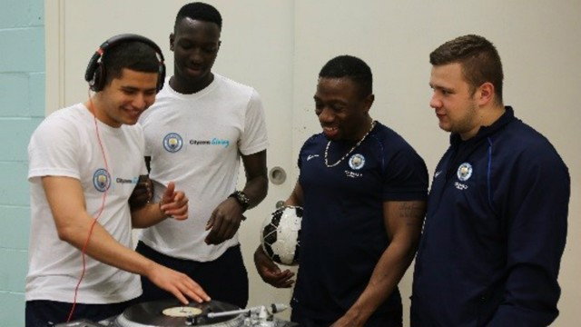 MANCHESTER: Boots and Beats combines football to and music to tackle youth unemployment.