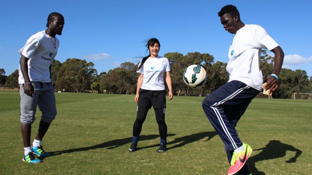 MELBOURNE: I Speak Football focuses on social inclusion.