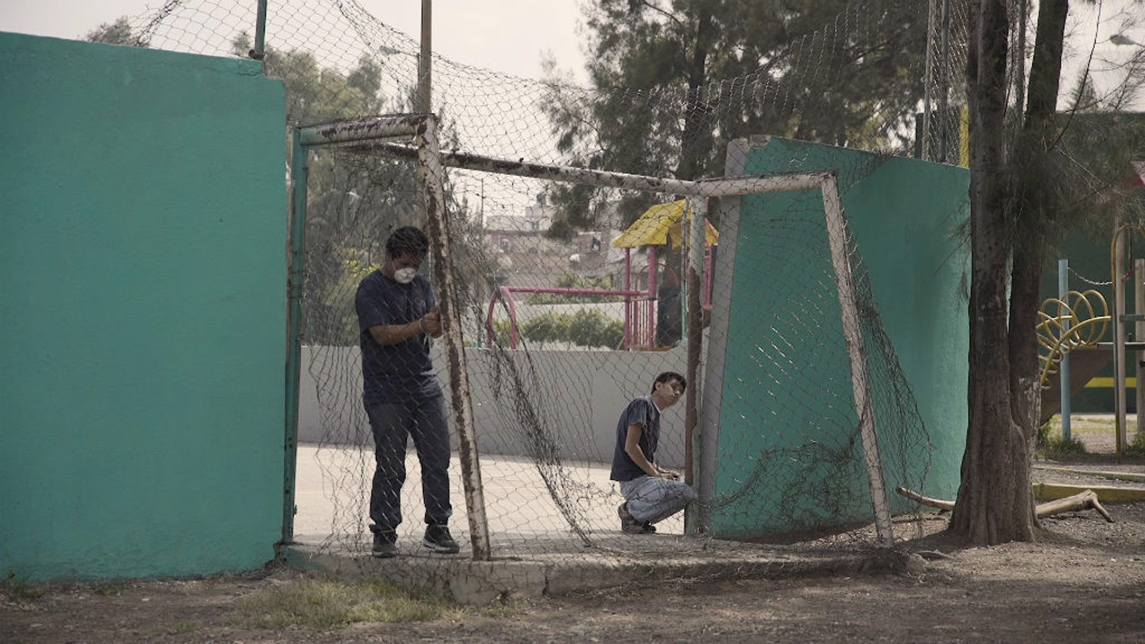 MEXICO CITY: Fútbol Matters provides a safe space for children to play football, whilst tackling employability issues.