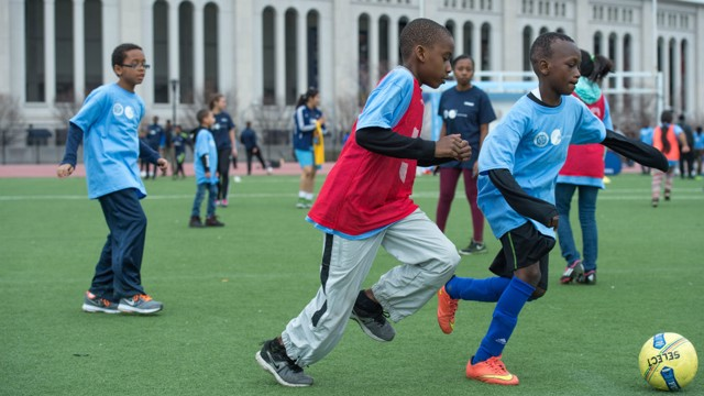 NEW YORK CITY: Healthy Hat Trick is tackling childhood obesity.