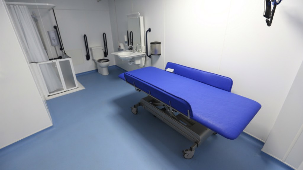 Man City Install Changing Places Accessible Toilets - Disabled changing table