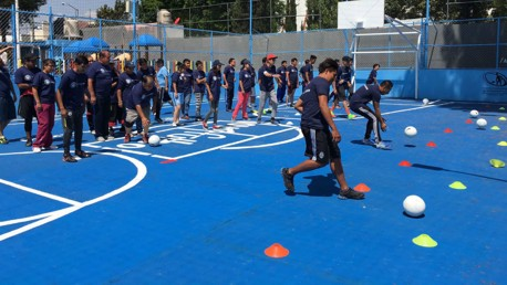 Pitch upgrade for Mexico City community project