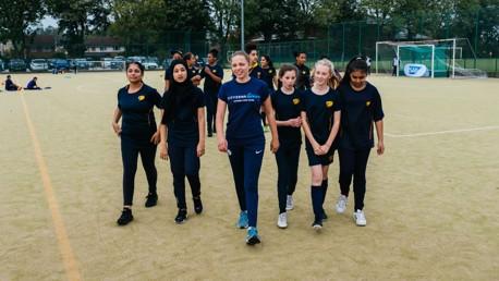 SPOTLIGHT: Manchester Cityzens Giving project, City Girls.