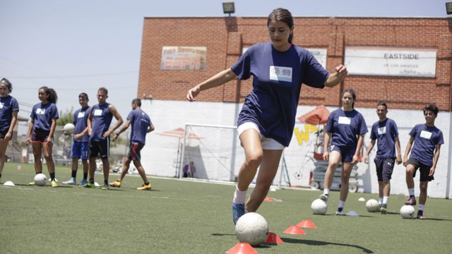 CITYZENS GIVING: Healthy Goals project, Los Angeles.