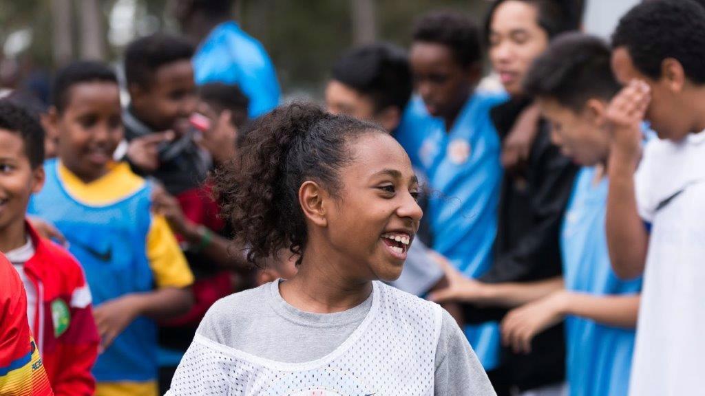 CITYZENS GIVING: I Speak Football, Melbourne.