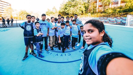 CITYZENS GIVING: The Soccer Bloc project, New York City.
