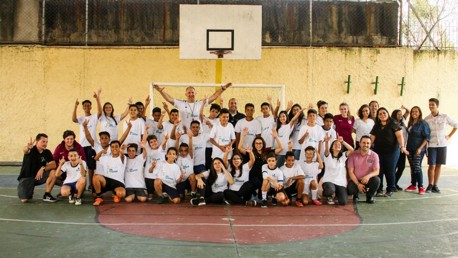 COMMUNITY: Young Leaders in Sao Paulo.