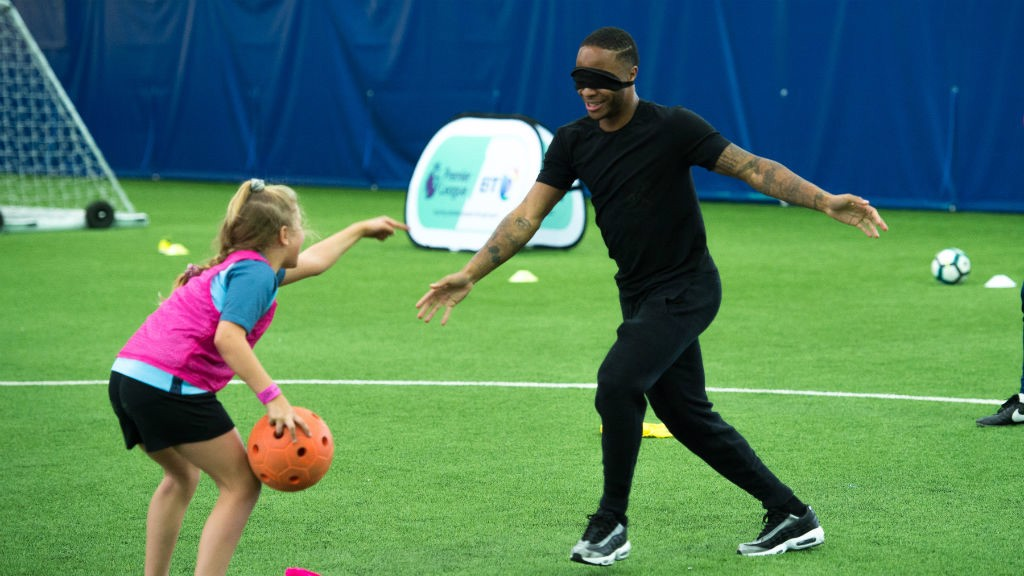 Sterling visits OneCity disability programme