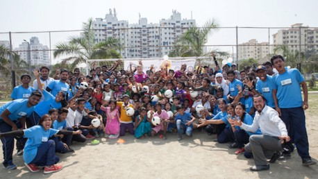 City return to India for Young Leader training