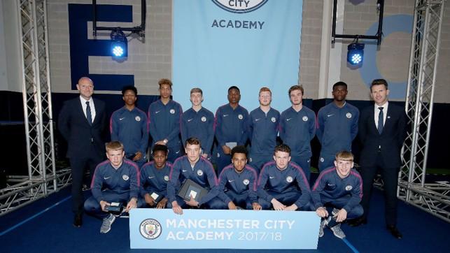 SQUAD: Gareth Taylor's Under-18 squad.