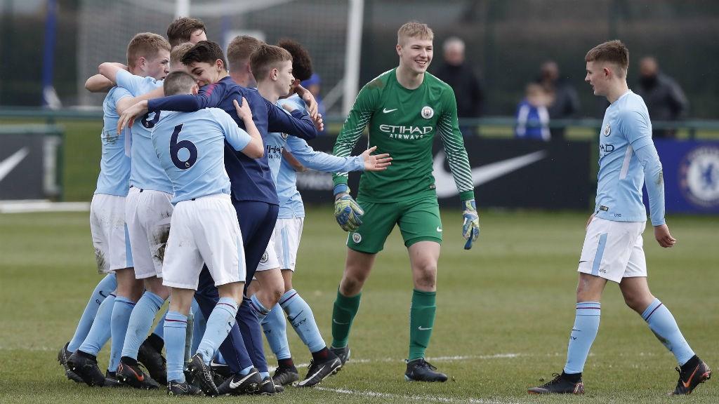 WINNERS: U16 Premier League Cup winners.