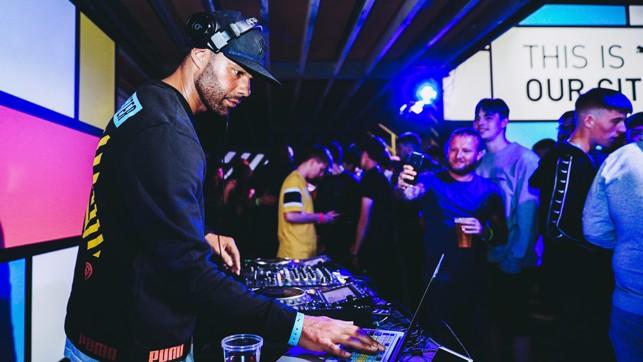 DJ: Joleon Lescott on the ones and twos.