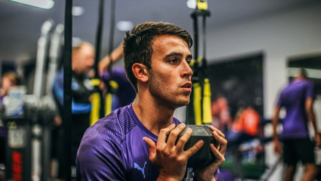 VISION ON: Eric Garcia is a study in concentration