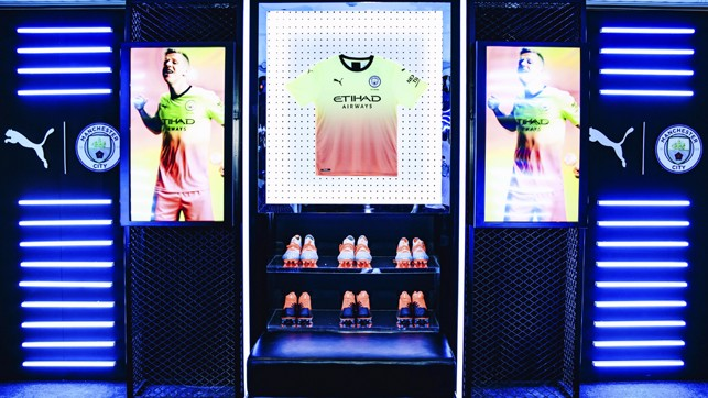 ALL ITS GLORY: The new PUMA gear looks superb in lights
