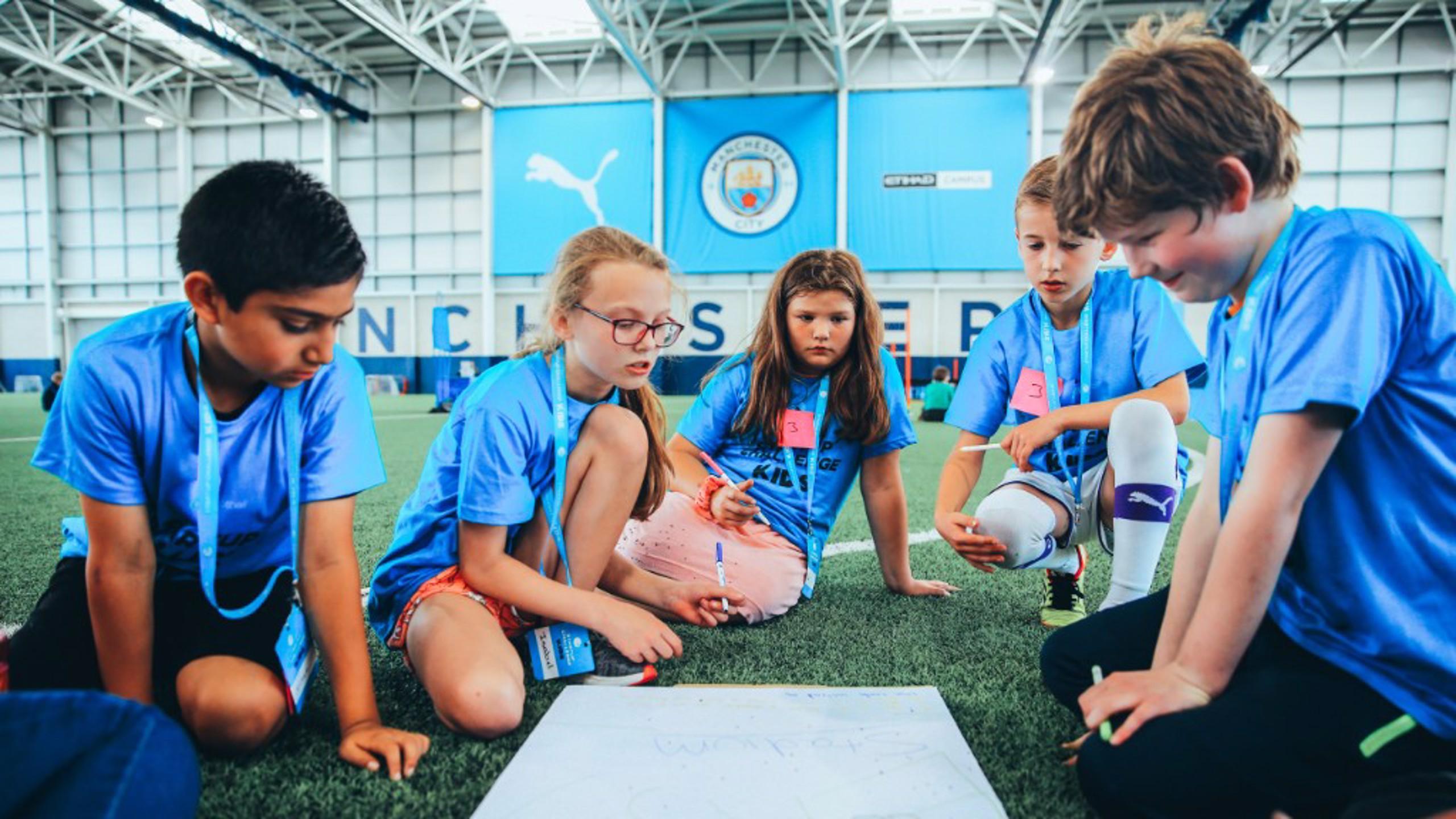 HARD AT WORK: City Startup Challenge Kids