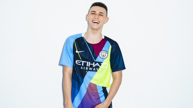 ALL SMILES; Phil Foden has worn every shirt produced by Nike in a six-year partnership with City