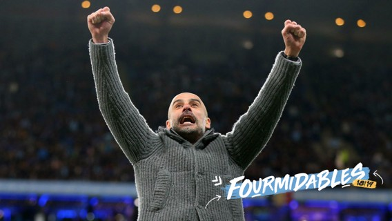 PRIZE: Pep's iconic cardigan will be auctioned off to raise money for City in the Community.