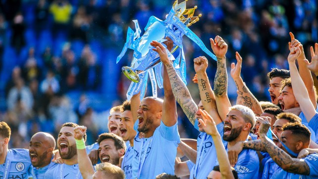 AGAIN: Manchester City, Champions of England.