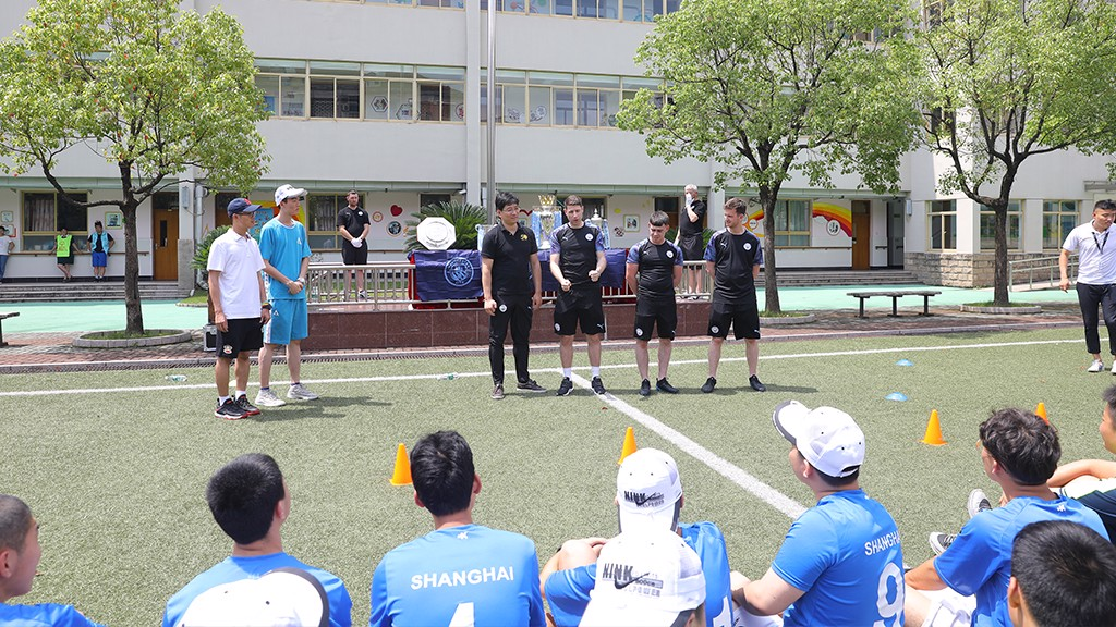 Cityzens Giving Football Festival in Shanghai