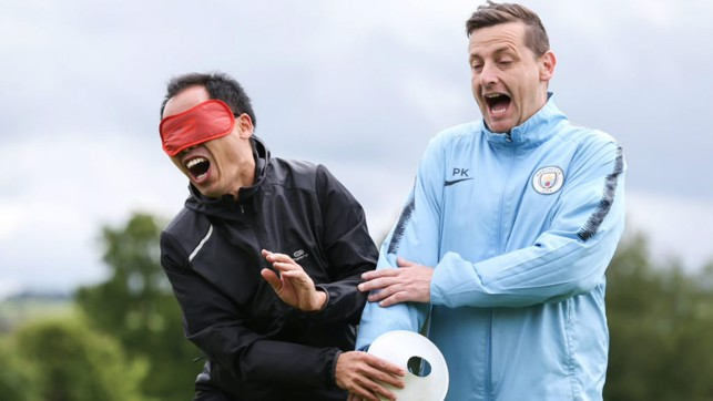 GET OUT THE WAY: City in the Community Coaches get involved