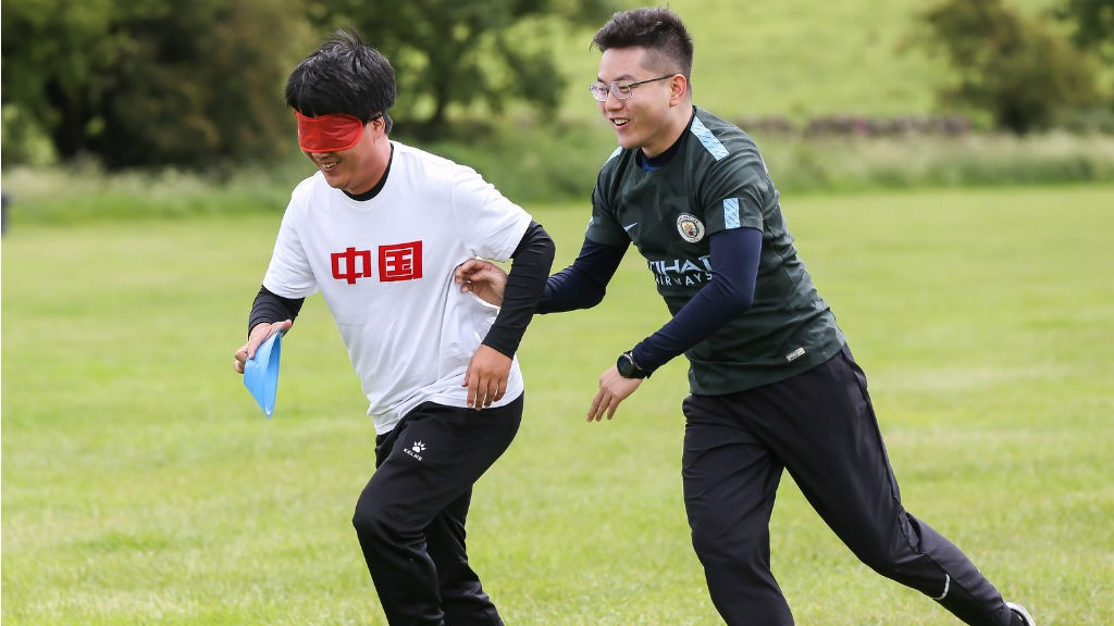 Young leader Yu takes part in a special training session