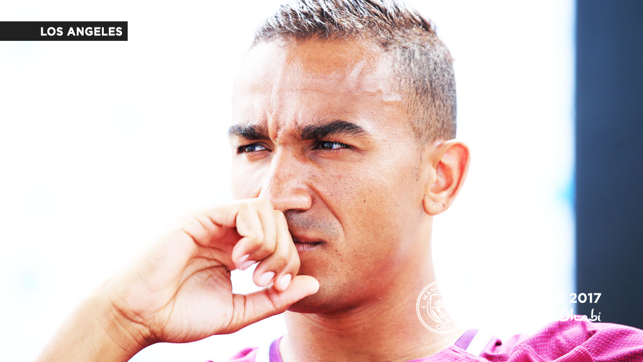 GOALS: Danilo stares