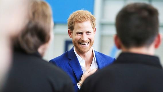 Su Alteza Real el Príncipe Harry.