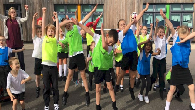SCHOOL SPORTS: Youngsters show a dab hand