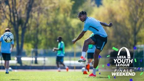 STRIKE: Demeaco Duhaney takes aim.