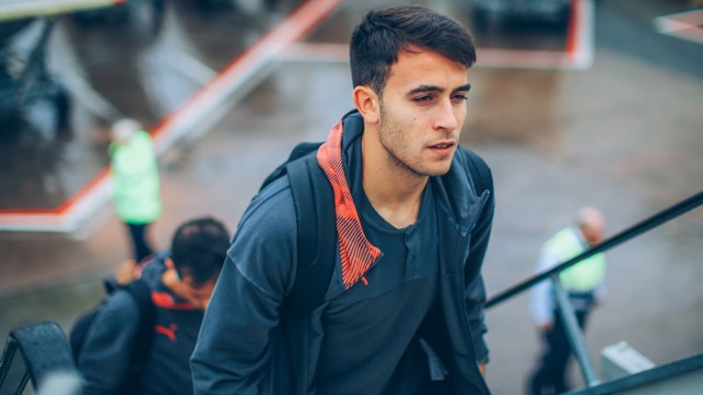 YOUNG AT HEART: Impressive teenage central defender Eric Garcia has also been included in Pep's squad for the trip to face Dinamo Zagreb