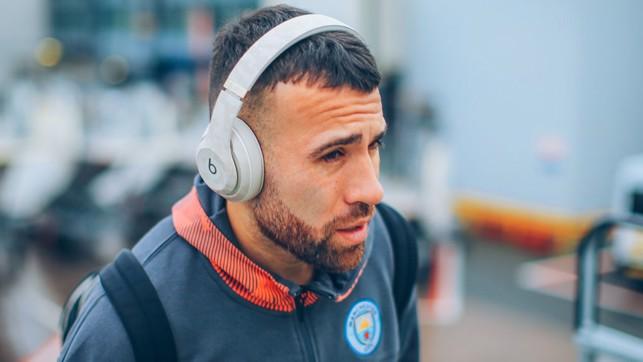 GENERAL ORDERS: Nicolas Otamendi tunes in to City's latest Champions League mission