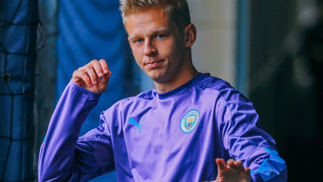 LOOK INTO MY EYES: Oleksandr tries his hand at hypnosis