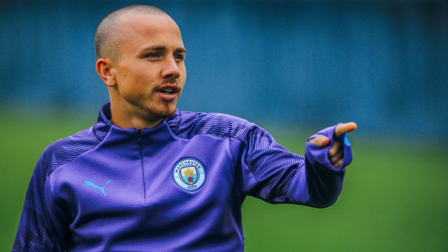 PICK AND MIX: Angelino gets first dibs on the 5-a-side team
