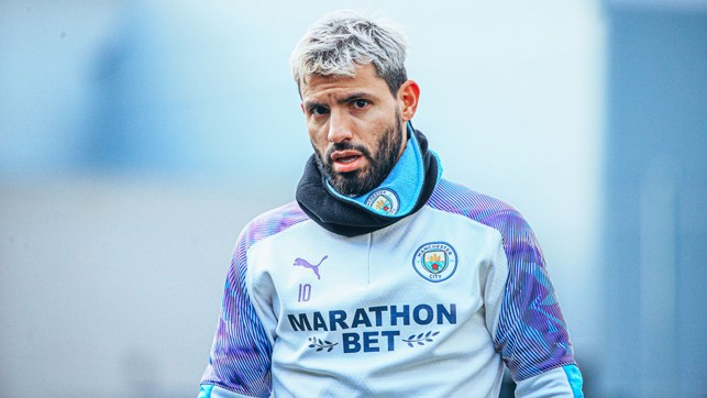 FORWARD MARCH: Sergio Aguero has been in a rich vein of form so far in 2020