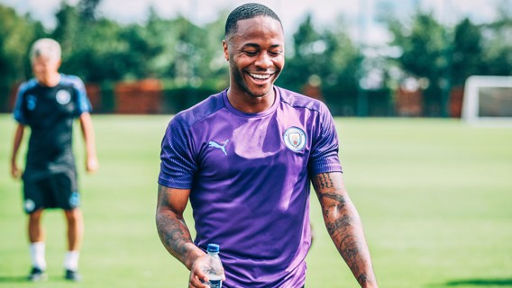 RAHEEM: Relaxed and rested - big season ahead for this young man