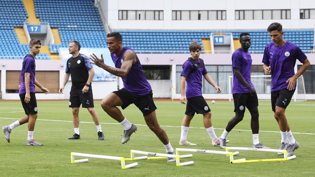 PACE TEST: Danilo leads the way