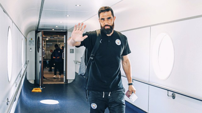 I'M BACK: Claudio Bravo is part of the squad having recovered from a long-term injury. Good luck, Claudio!