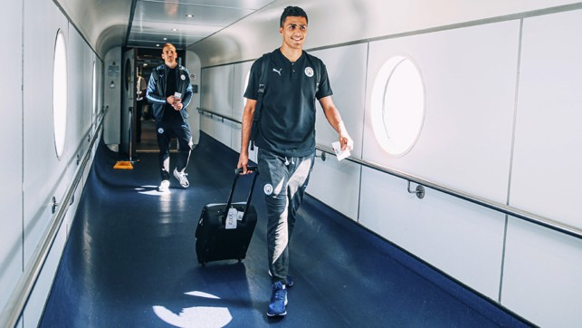 NEW SIGNING: New man Rodri is set to make his City bow out in China. Can't wait to see him play.