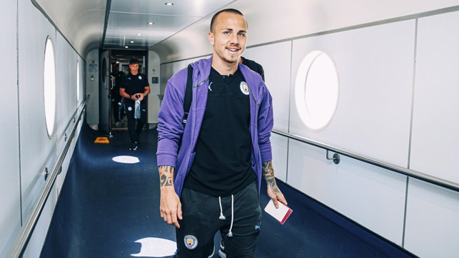 FAMILIAR FACE: Angelino is back at City and ready to hit Asia!