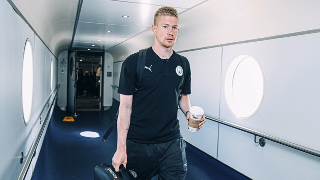 STITCH UP: De Bruyne's been given someone else's coffee!