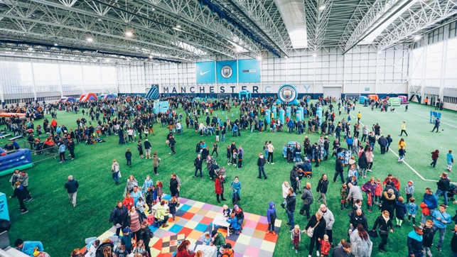 CFA: The fans explore the facilities here at the City Football Academy