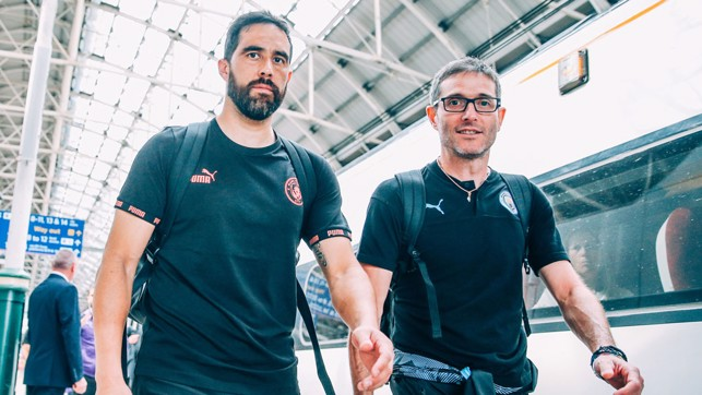 BACK IN BUSINESS: Claudio Bravo is fit again and raring to go!