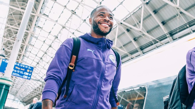 CAPITAL GAINS: Raheem Sterling has already enjoyed some memorable moments at Wembley with City this year