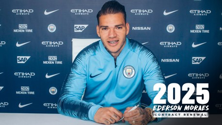 CITY FUTURE: Ederson
