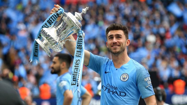 FOURMIDABLE FRENCHMAN: Aymeric Laporte