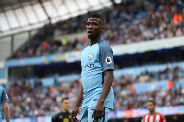 FIRST GAME: Kelechi dons the new 2016/17 kit in the first game of the season