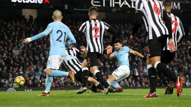 HAT-TRICK #11: Sergio calls the Toon against Newcastle